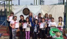 Турнир по игре в дартс среди детей и подростков определил новых лидеров!