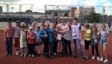 Соревнования по стритболу среди детей и подростков