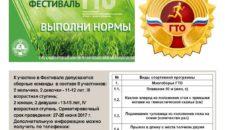 Летний фестиваль ВФСК ГТО!