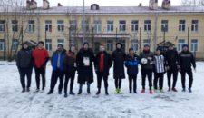 Открытый турнир по зимнему футболу