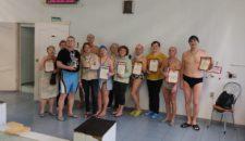 В выходные в бассейне Морской Школы ДОСААФ России прошли соревнования по плаванию среди лиц старшего поколения!🏆🏊🏻♀