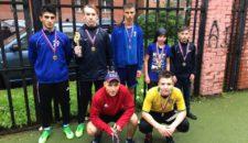 Турнир по мини-футболу среди любительских команд Василеостровского района
