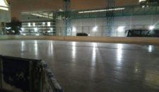 Сегодня сотрудниками Центра Спорта были расчищены и залиты очередным слоем воды катки