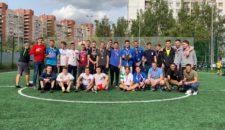 Футбольный турнир Посвященный дню Василеостровского района