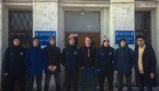 Результаты выступления команды Василеостровского района допризывного возраста